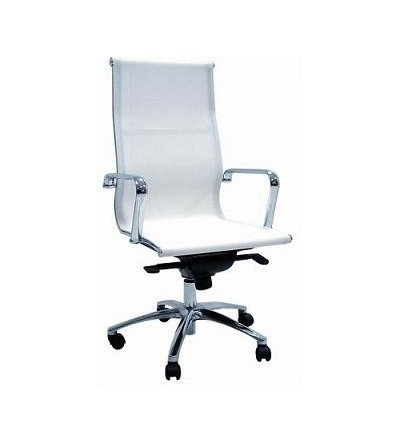 Sillón Dirección de asiento y respaldo alto en red