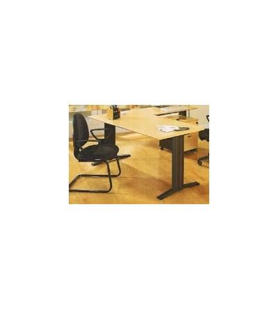 Mesa de oficina recta 160*80*74