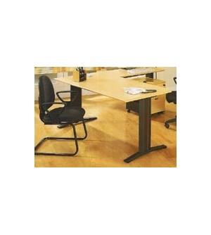 Mesa de oficina recta 120*80*74