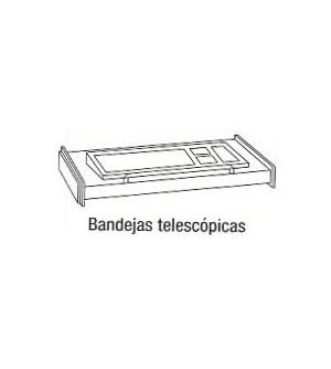 Bandeja telescópica