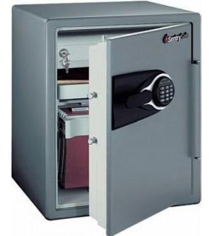 Caja de seguridad antirrobo e ignífuga