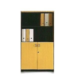 Mueble de oficina armario mediano con puertas pequeñas 148*80*40