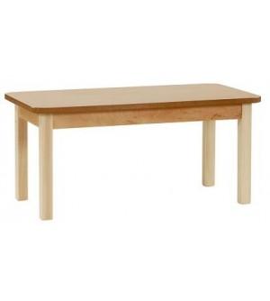 Mesa madera geriátrico 55 cm. de alto