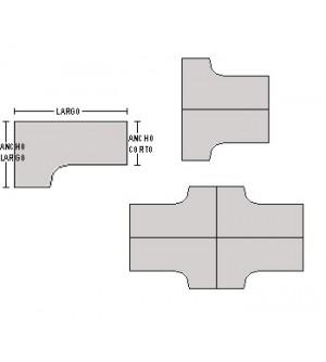 Mesa compacta 180*120*80*74