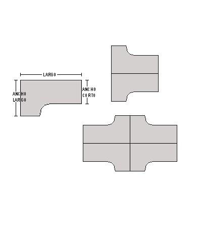 Mesa compacta 160*140*80*74