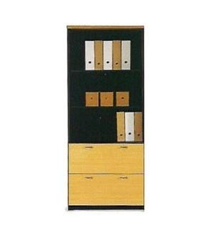 Muebles de oficina alto doble archivo con estantes 196*80*40