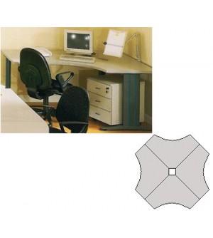 Mesa de oficina múltiplo 140*98,5*60*74