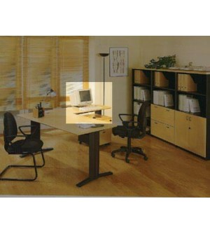 Ala de mesa de oficina  80*60*74