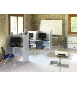 Mesa para teleoperadora